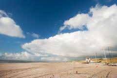 Dutch coast royalty free stock image