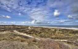 Dutch Coast. Dunes on the Dutch coast near The Hague Stock Image