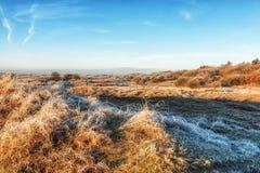 Dutch Coastal Feature. A Dutch Coastal Winter Landscape Stock Images