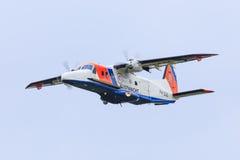Dutch Coastguard plane Royalty Free Stock Image