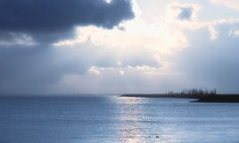 A dutch coastline Royalty Free Stock Photo