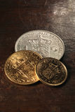 Dutch coins Royalty Free Stock Photography