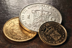 Dutch coins Royalty Free Stock Photo
