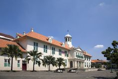 Dutch colonial building 1 Stock Images