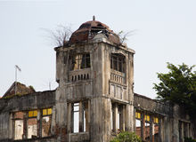 Dutch colonial building in Jakarta Royalty Free Stock Photos
