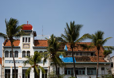 Dutch colonial buildings in Jakarta Stock Photos