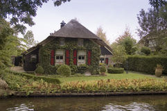 Dutch country house Stock Image