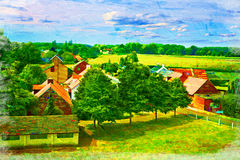 Dutch Countryside Stock Image