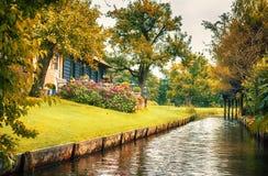 Dutch county side Royalty Free Stock Photo