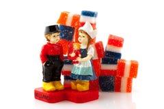 Dutch couple Stock Images