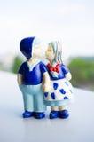 Dutch couple figure Royalty Free Stock Photos