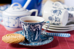 Dutch cup of tea Royalty Free Stock Photos