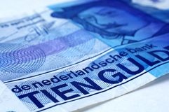 Dutch Currency Stock Photo
