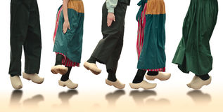 Dutch Dancers Stock Photography