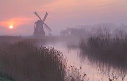 Dutch dawn. Stock Image
