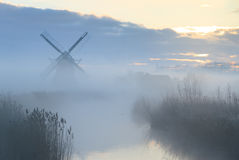 Dutch dawn Stock Images