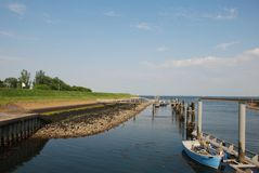 Free Dutch Dike Ebb Low Tide Stock Photo - 5240800