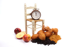 Dutch donuts, called oliebollen Stock Image