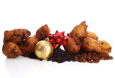 Dutch donuts called Oliebollen Stock Images