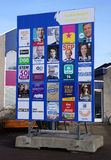 Dutch elections billboard Royalty Free Stock Image