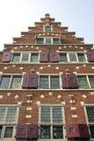Dutch facade. Facade from old merschantshouse in Amsterdam the Netherlands Royalty Free Stock Photos