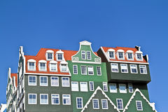 Dutch facades in the Netherlands Stock Photo