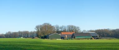 Dutch farm Stock Photo