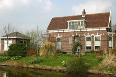 Dutch farm house Royalty Free Stock Photography
