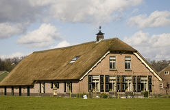 Dutch farm house Royalty Free Stock Photos