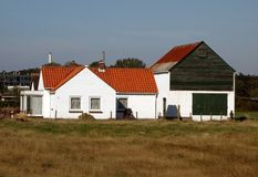 Dutch farm house Stock Images
