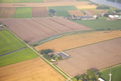 Dutch farm landscape Royalty Free Stock Photos