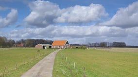 Dutch farmhouse Royalty Free Stock Image