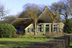 Dutch farmhouse. Image of an original historic dutch farmhouse Royalty Free Stock Image