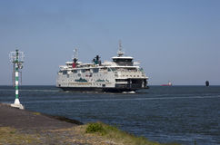 Dutch Ferry Royalty Free Stock Images