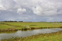 Dutch Field System Stock Photo