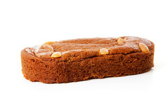 Dutch filled gingerbread cake Stock Images
