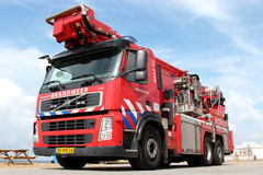 Dutch fire engine Royalty Free Stock Photos