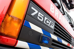 Dutch fire engine Stock Image