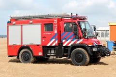 Dutch fire engine Stock Photos