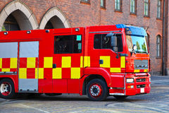 Dutch Fire Truck Stock Photo