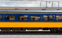 Dutch first class train car Stock Image