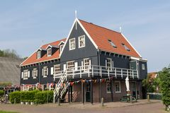 Dutch fishermen house Stock Images