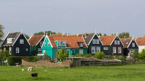 Dutch fishermen house Royalty Free Stock Image