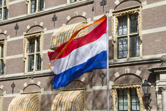 Dutch Flag Royalty Free Stock Photo