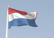 Dutch flag. The national flag of The Netherlands stock photo