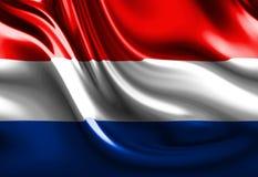 Dutch flag Royalty Free Stock Photography