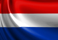 Dutch flag Royalty Free Stock Photography
