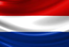 Dutch flag Royalty Free Stock Photos
