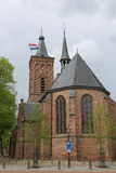 Dutch flag on a church tower Stock Image