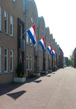 Dutch flags Royalty Free Stock Image
